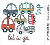 automotive logo template  | Shutterstock .eps vector #411021082
