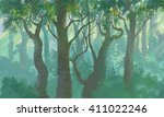 Inside Forest Painting...