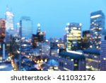 Abstract City Blur Background...