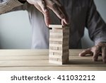 business concept for growth... | Shutterstock . vector #411032212