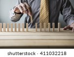 business concept for growth... | Shutterstock . vector #411032218