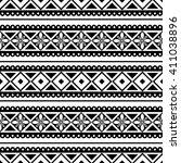 seamless raster pattern. black... | Shutterstock . vector #411038896