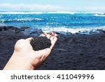 Black Sand Beach  Big Island ...