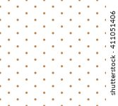 Brown Seamless Polka Dots...