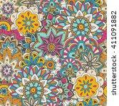 seamless pattern texture.... | Shutterstock .eps vector #411091882