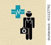 health professional design    Shutterstock .eps vector #411127792