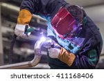Industrial Worker With...