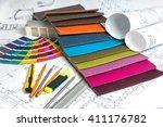 architectural concept... | Shutterstock . vector #411176782