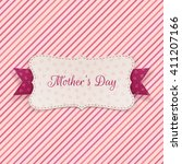 mothers day holiday banner with ... | Shutterstock .eps vector #411207166