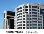 top of high rise office... | Shutterstock . vector #4112221