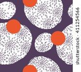vector simple pattern. creative ... | Shutterstock .eps vector #411254566