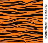 vector illustration of tiger... | Shutterstock .eps vector #411256642