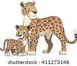 vector illustration  adult... | Shutterstock .eps vector #411273148