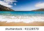 Beautiful Coastline in Tasmania, Australia - stock photo
