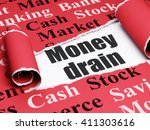 currency concept  black text... | Shutterstock . vector #411303616