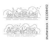 vector design element for... | Shutterstock .eps vector #411308452