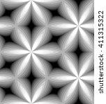 seamless monochrome pattern of...   Shutterstock .eps vector #411315322