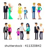 detailed character people... | Shutterstock .eps vector #411320842