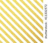 vector gold glittering lines... | Shutterstock .eps vector #411332572