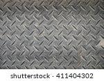 non slip steel grating | Shutterstock . vector #411404302