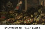 Still Life With Fruit And...