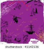 grunge background vector | Shutterstock .eps vector #41142136
