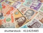 variety of south american... | Shutterstock . vector #411425485