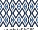geometric ethnic oriental ikat... | Shutterstock .eps vector #411439906