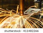 industrial  automotive spot... | Shutterstock . vector #411482266