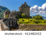 Eilean Donan Castle On Lake...