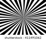 radiating  converging lines ... | Shutterstock .eps vector #411491062