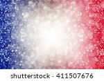 abstract patriotic red white... | Shutterstock . vector #411507676