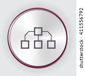 flow chart icon picture image...
