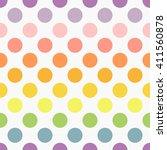 Polka Dot Colors Background....