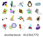 it is the material of the icon... | Shutterstock .eps vector #411561772
