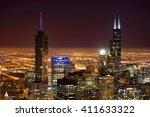 chicago  il   march 28  2016 ... | Shutterstock . vector #411633322