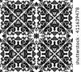 vector seamless pattern. luxury ... | Shutterstock .eps vector #411639478