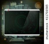 futuristic design screen....