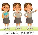 student kid   Shutterstock .eps vector #411712492