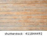 Plank Wood Wall For Text And...