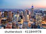 new york city  usa   Shutterstock . vector #411844978