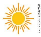 sun. vector illustration | Shutterstock .eps vector #411847942