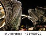 Petronas Twin Towers From Belo...