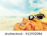 summer. | Shutterstock . vector #411932086