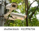 surveillance camera | Shutterstock . vector #411996736