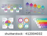 vector illustration set... | Shutterstock .eps vector #412004032