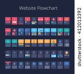 flowchart cards for website...