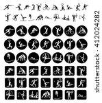 sport icons   Shutterstock .eps vector #412024282