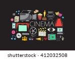vector illustration of flat...   Shutterstock .eps vector #412032508