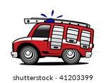 fire engine | Shutterstock .eps vector #41203399